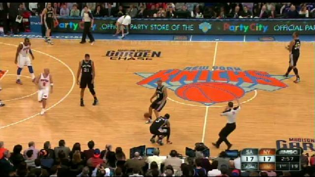 Stephen Jackson Injured When He Trips Over Courtside Waitress S…