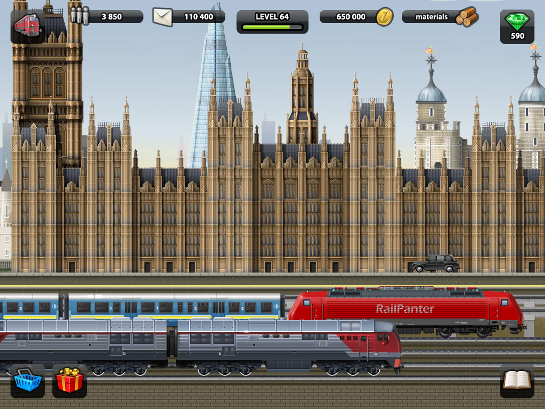 train station online game