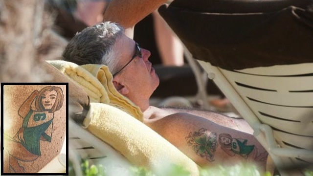 Rex Ryan Has A Tattoo Of His Wife Wearing A Mark Sanchez Jersey