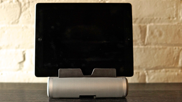Definitive Technology Sound Cylinder First Listen: A Spectacular, Portable Sound System for Your Tablet or Laptop