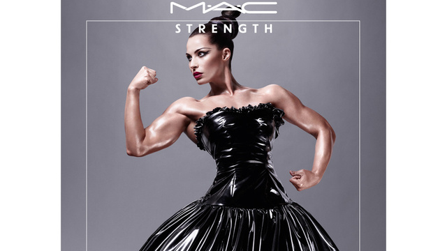MAC Put A Female Bodybuilder In A Makeup Ad And It's Beautiful