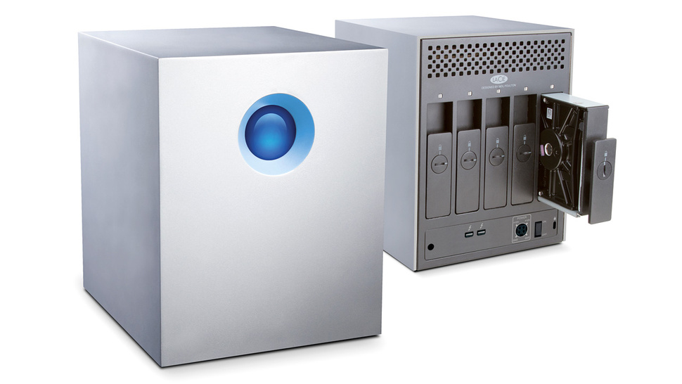 LaCie's 5big Thunderbolt RAID Puts 20 Glorious Terabytes On Your Desk
