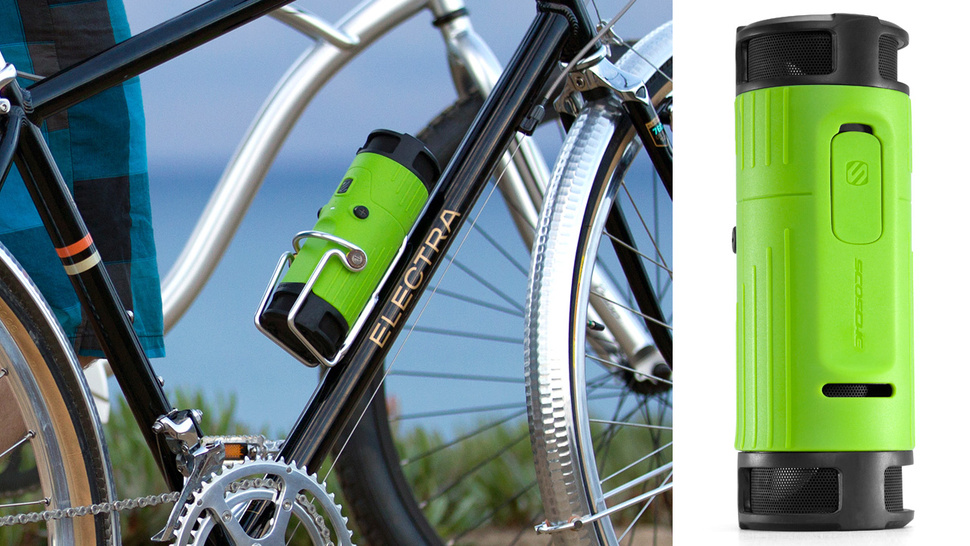 Trade Hydration For Hendrix With Scosche's boomBOTTLE Speaker