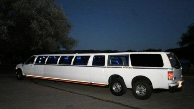 "Click here to read I Can't Believe No One Bought The Marble-Filled ""World's Longest SUV"""