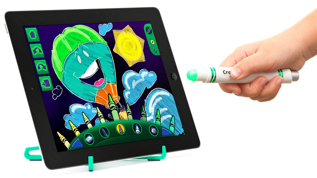Click here to read Griffin's Glowing iPad Stylus Lets Kids Draw Without Banging Up the Screen