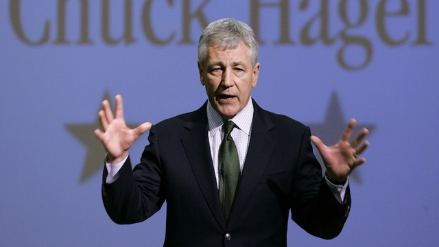 Chuck Hagel Will Be Obama's Not-At-All Controversial Nominee for Secretary of Defense