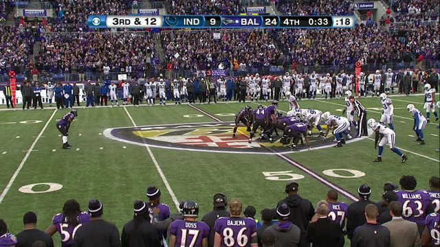 Ray Lewis Lined Up One Last Time In Baltimore And Drooled All O…