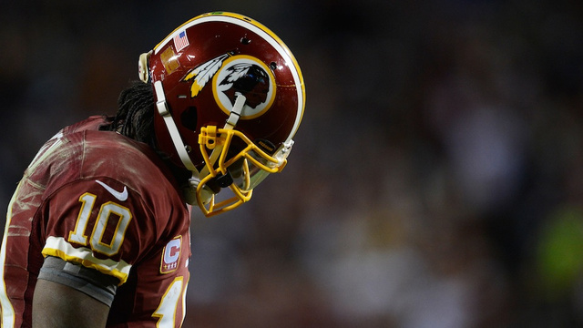 Injured Robert Griffin III put in bad spot by Washington Redski…