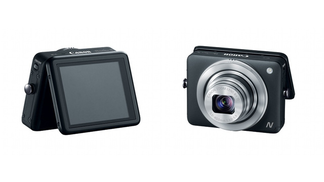 Canon Powershot N: The Future of Tiny Cameras Is Eco-Friendly Touchscreen Squares?