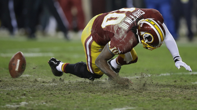 "The Redskins Were Done In By Their Own ""Crappy"" Field"