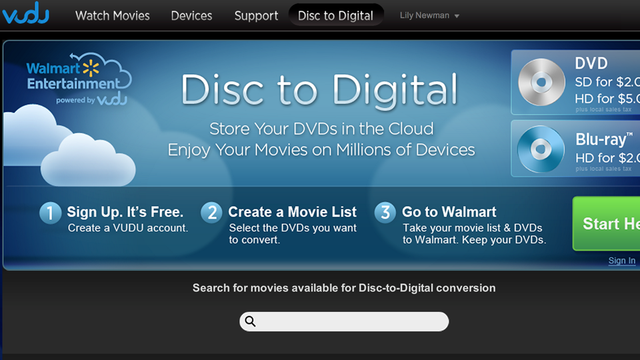Walmart's For-Pay Blu-ray Ripping Is Now Slightly Less Annoying, Still Way Overpriced