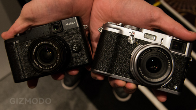 Click here to read Fujifilm X100 and X20 Get New Faster Guts To Match Their Slick Design (Update: Hands-On)
