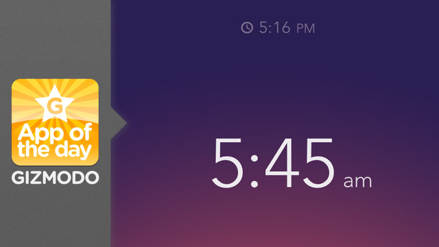 Click here to read Rise: An Alarm You Can Actually Enjoy Waking Up To