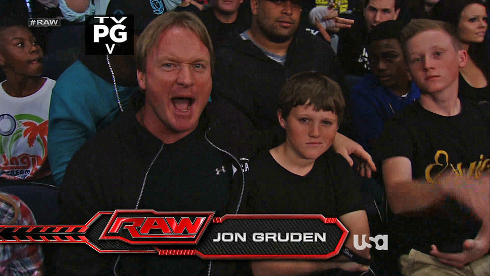 BCS Who? Jon Gruden Decided To Have A Blast At <em>WWE Raw</em> Instead