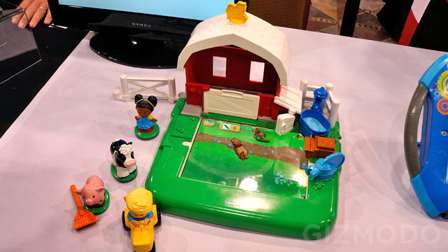 Fisher-Price's Iconic Farm Set Gains an iPad Dock and Loses Imagination Requirements