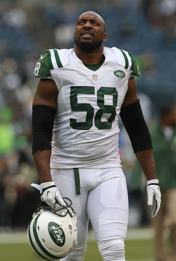 Jets LB Bryan Thomas Was Charged With Assaulting His Wife Back …