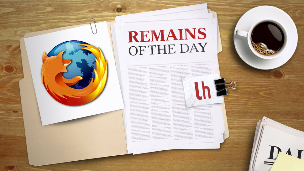 Remains of the Day: Firefox 18 is Here With A Big Speed Boost and Retina Support