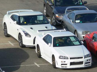 Nissan GT-R R35 is Huge Compared To R34