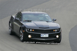 2010 Chevy Camaro SS Caught On Nurburgring, Stig At The Wheel?