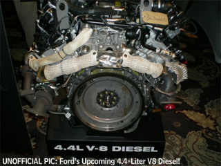 2010 Ford F-150's New 4.4L V8 Diesel Engine Gets Leaked To Internet