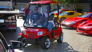 Hot Rods, Fire Trucks And More: Seven Crazy Golf Cart Mods
