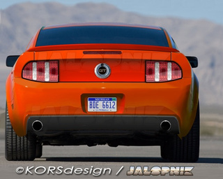 2010 Ford Mustang In The Nude!