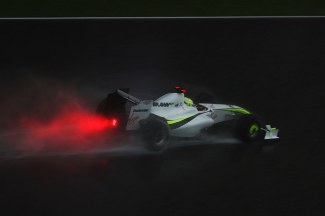 Jenson Button, Brawn GP Win Rain-Soaked, Red-Flagged Malaysian Grand Prix