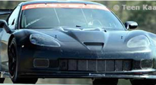 New ZR1-Bodied Corvette GT2 Racer Spotted On Track