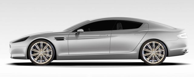 Aston Martin Rapide: 470 HP Super Sedan Officially Hot
