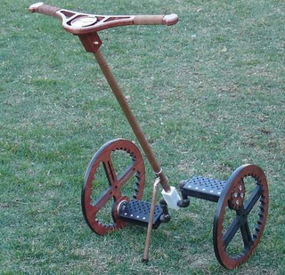 "Segway Goes Steampunk With ""Legway"""