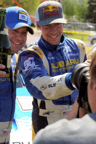 Travis Pastrana Wins 2009 Oregon Trail Rally