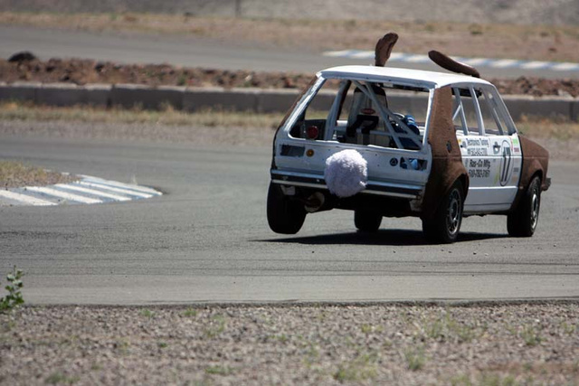 Who needs Indy when Day 2 of LeMons Reno-Fernley is off and running?