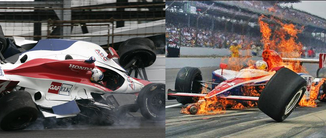 Vitor Meira's Terrible, Horrible, No Good, Very Bad Indy 500
