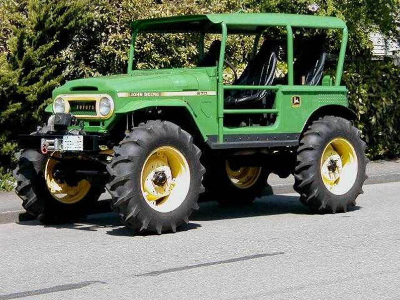 toyota fj40 john deere edition. Black Bedroom Furniture Sets. Home Design Ideas