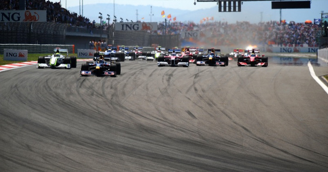 The Turkish Grand Prix in Gorgeous Pictures