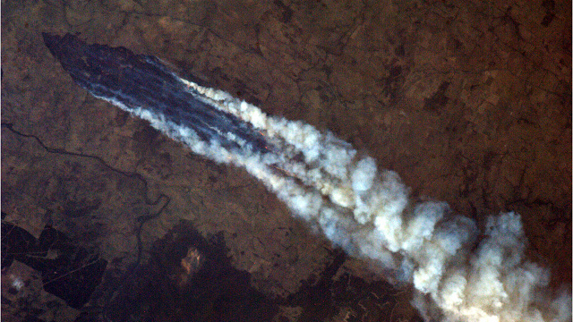 A disturbing glimpse of Australia's wildfires as seen from space