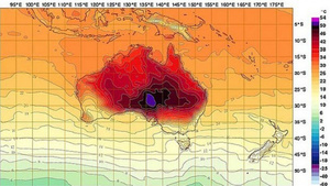 Australia Is So Hot They Had to Add New Colors to Their Weather Maps