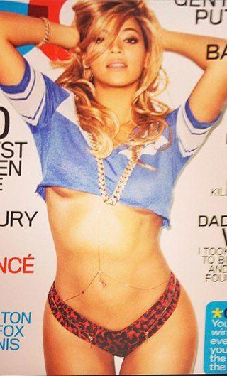 Leaked: Beyoncé and Her Underboobs Cover GQ's Sexiest Women of the Century Issue [UPDATE: Hi-Res]