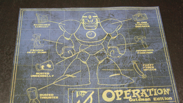 You Can Buy This Fully-Functional Mega Man-Themed Operation Game