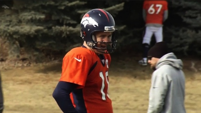 If A Broncos Player Pees In The Woods, The Broncos' Website Will Get It On Video