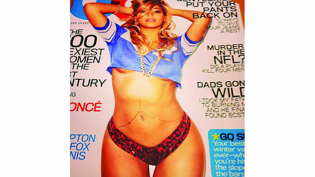 Queen Bey's Underboob Scores the Cover of Gentlemen's Quarterly
