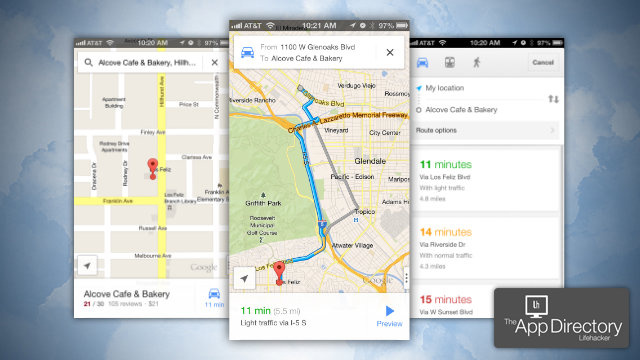 The Best Turn-by-Turn Navigation App for iPhone