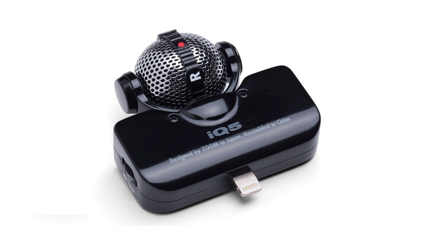 Click here to read Give Your iPhone 5 a Pro-Quality Mic with the Zoom iQ5