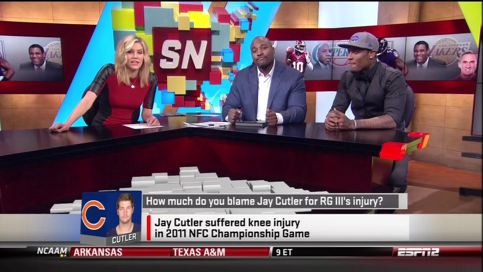 """How Much Do You Blame Jay Cutler For RGIII's Injury?"" Was An Actual Topic Of Conversation On <em>SportsNation</em>"