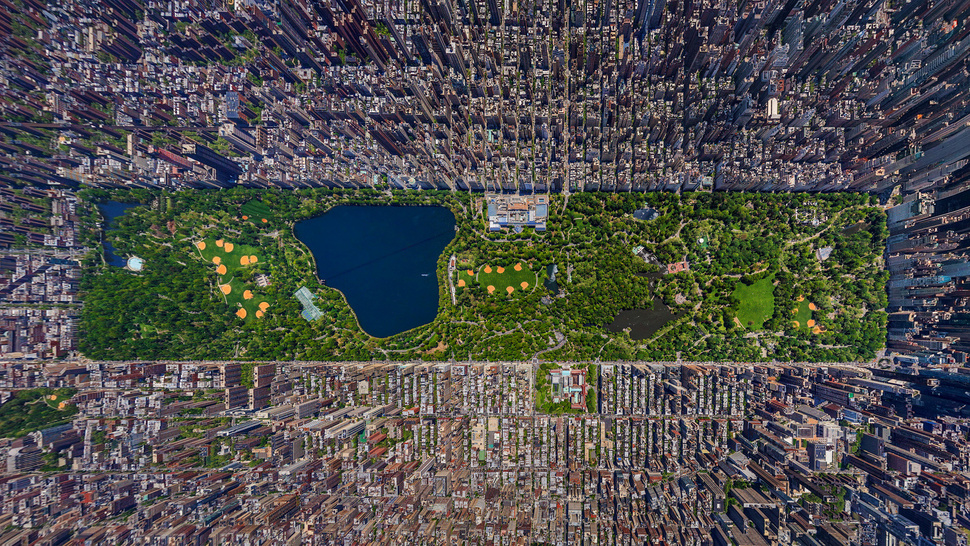 This Picture Makes Manhattan Look Like a Video Game