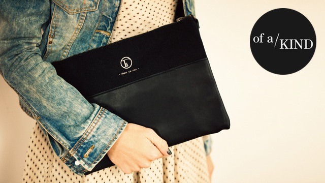 A Sturdy Black Clutch That Holds Almost Anything
