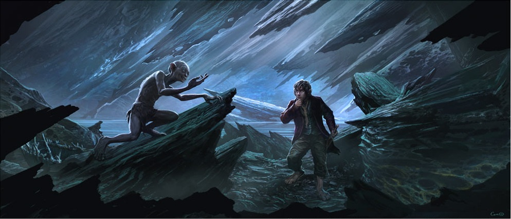 You can own this shiny Weta artwork from <em>The Hobbit</em>