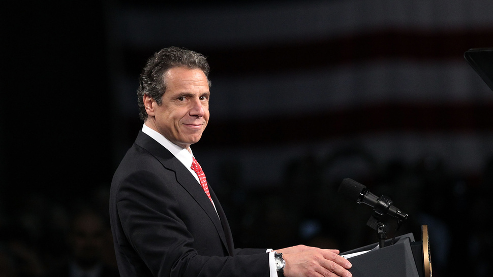 Letting People Get High is One of New York Governor Andrew Cuomo's Top Priorities in 2013