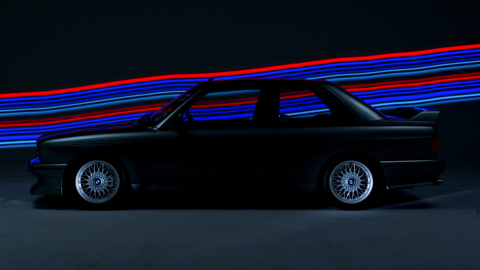 Your Ridiculously Luminous E30 BMW M3 Wallpaper Is Here