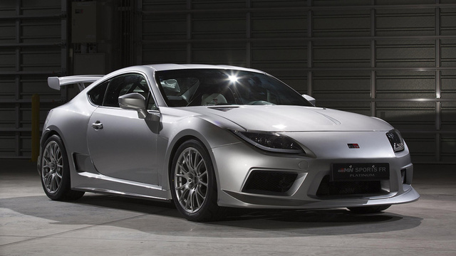 Click here to read Why Is Toyota Showing Off A Scion FR-S That Looks Like A Supra?